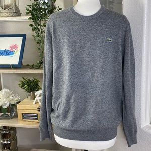 Lacoste gray sweaters